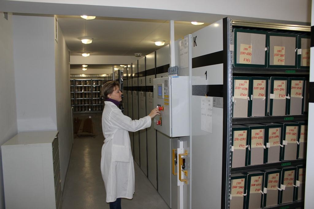 архив в медицинском учреждении