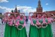 Вот уже в седьмой раз на Красной площади стартовал Фестиваль цветов