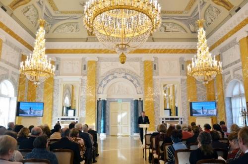 В Государственном комплексе «Дворец конгрессов»Управления делами Президента Российской Федерации прошли 17-е «Константиновские чтения»