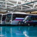 Современные комфортабельные автобусы «Hyundai» и микроавтобусы «Ford»